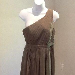 J. Crew Petite Kylie Silk Chiffon Dress